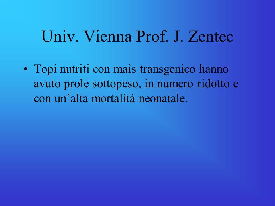 Univ.Vienna Prof. J.