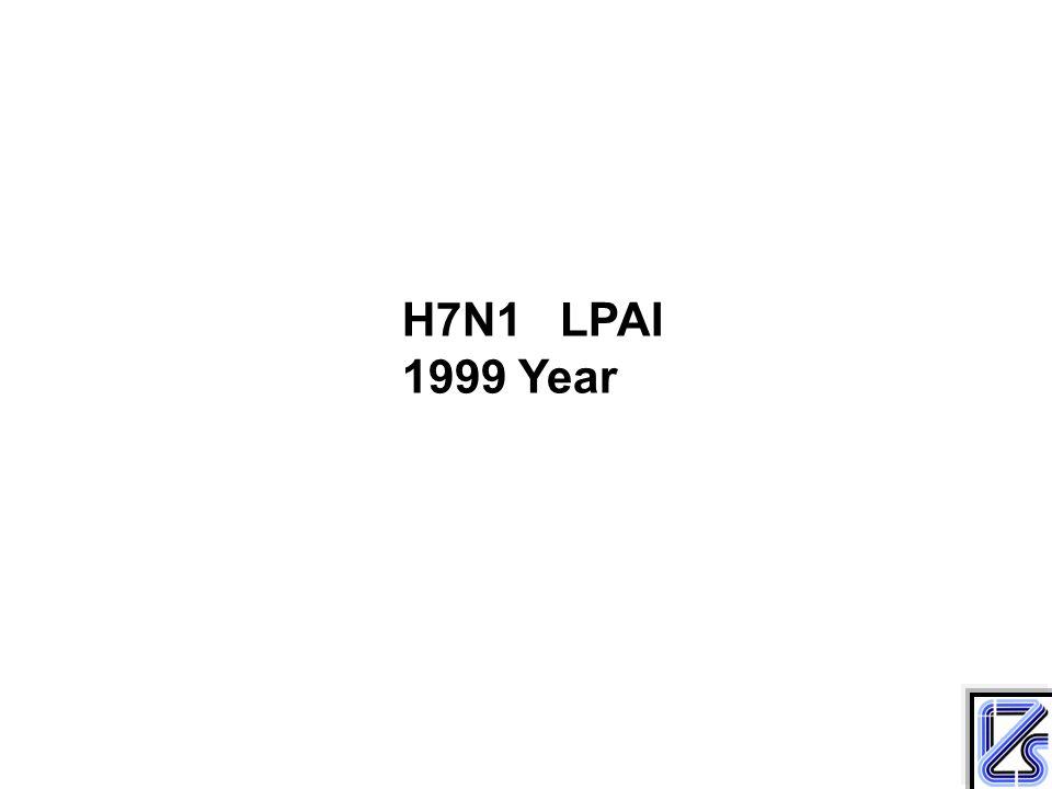 H7N1 LPAI 1999 Year