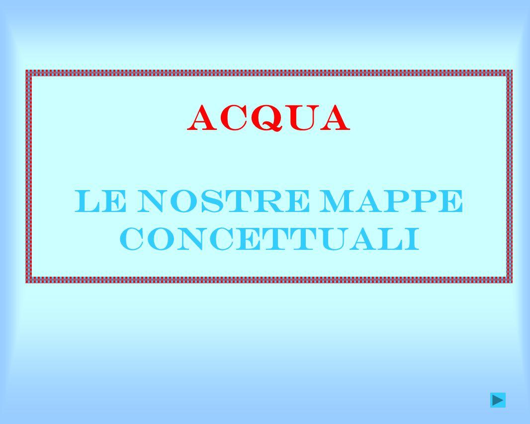 Acqua le nostre mappe concettuali