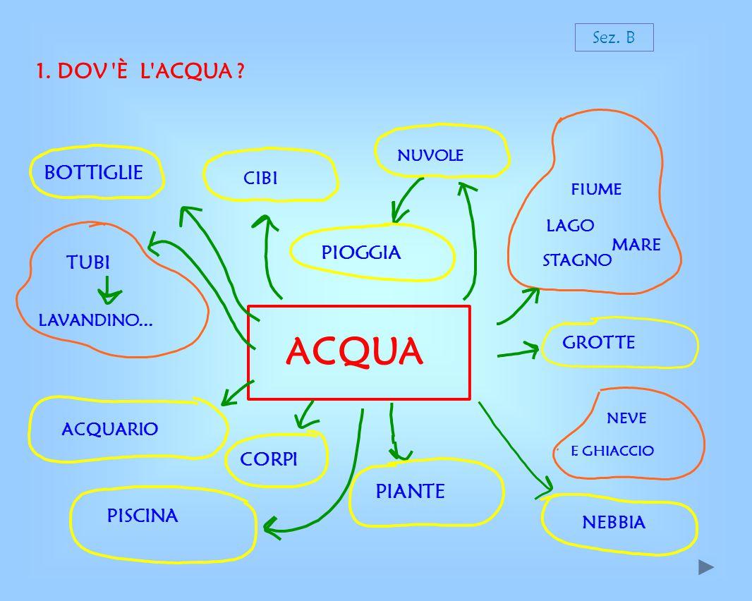 1.DOV È L ACQUA . ACQUA SOTTOTERRA TUBI CASE LAVATRICE...