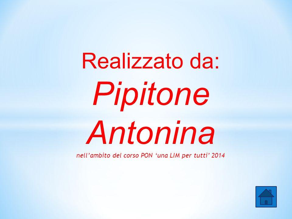 Realizzato da: Pipitone Antonina nell'ambito del corso PON 'una LIM per tutti' 2014