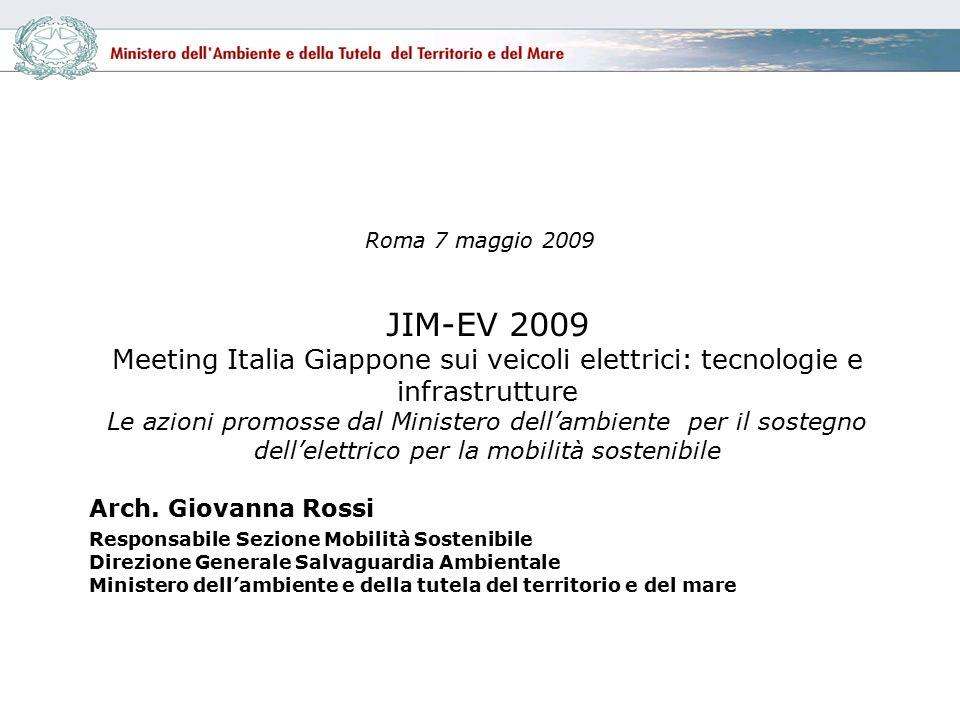 Roma 7 maggio 2009 Arch.