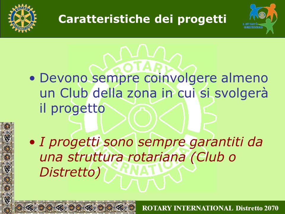 ROTARY INTERNATIONAL Distretto 2070 W.C.S.Projects Exchange Tutti i progetti A.P.I.M.