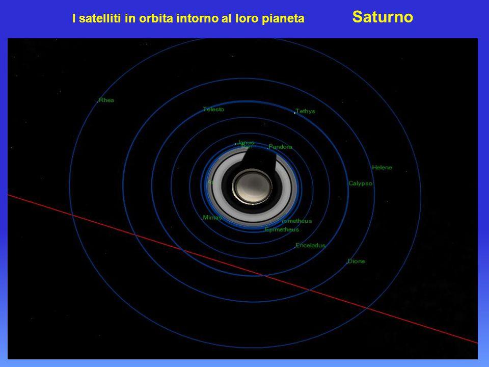 Saturno con i luminosi anelli e la vistosa 'Divisione del Cassini'
