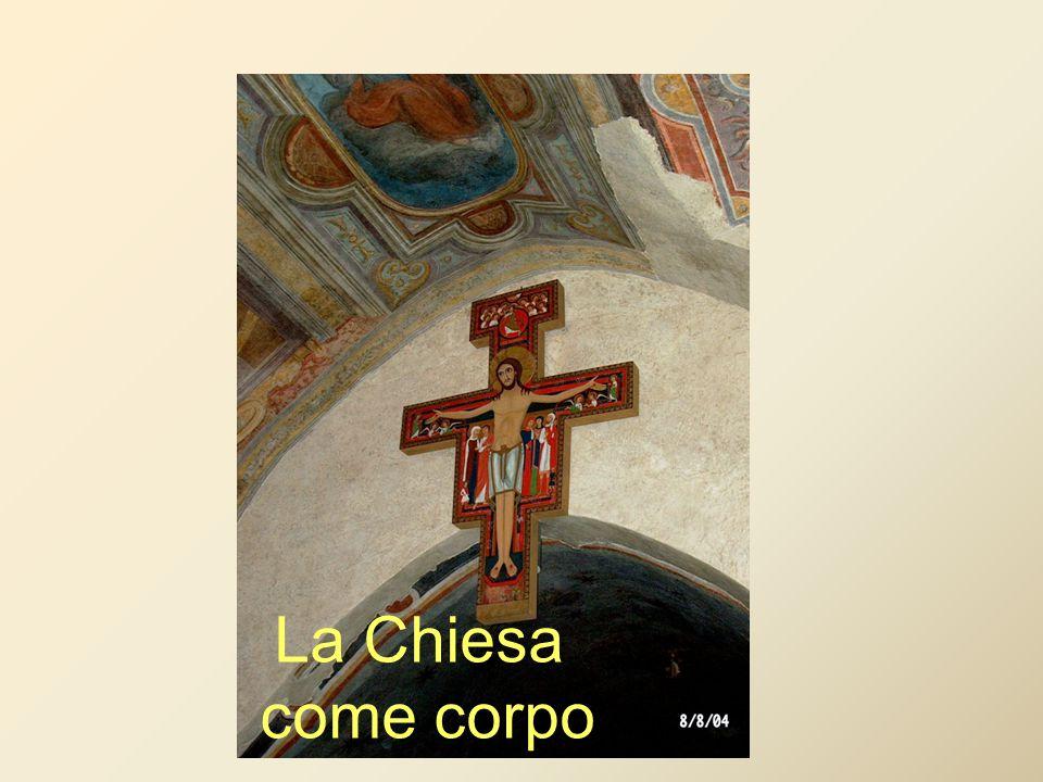 La Chiesa come corpo
