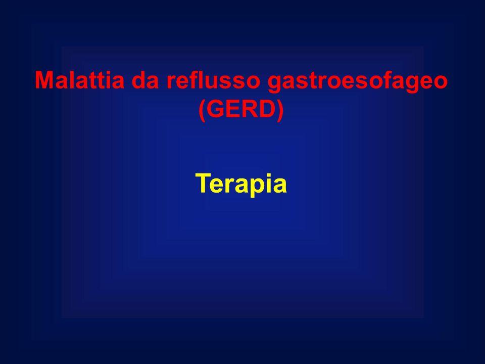 Malattia da reflusso gastroesofageo (GERD) Terapia
