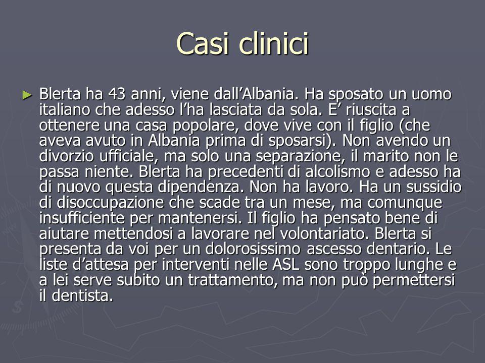 Casi clinici ► Blerta ha 43 anni, viene dall'Albania.
