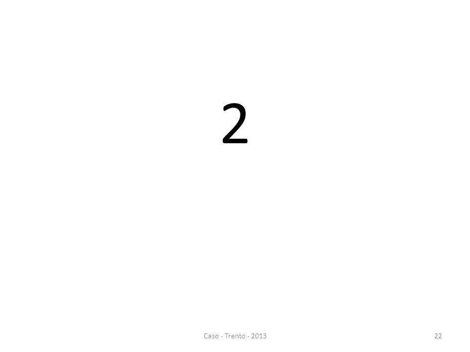2 Caso - Trento - 201322