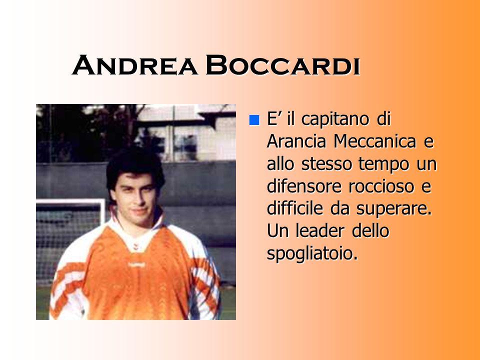 Luca Boccardi nEnEnEnE' il portiere della squadra.