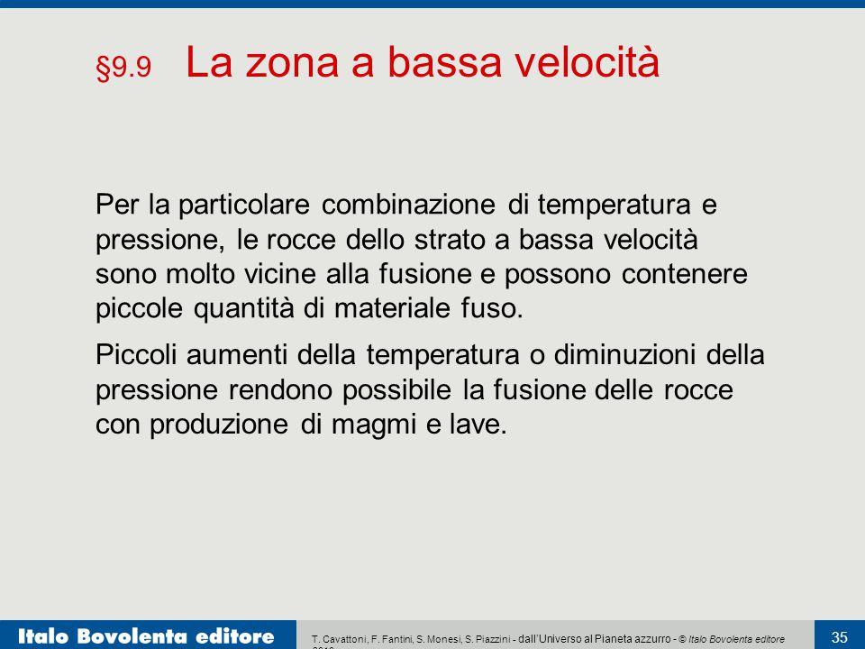 T. Cavattoni, F. Fantini, S. Monesi, S. Piazzini - dall'Universo al Pianeta azzurro - © Italo Bovolenta editore 2010 35 Per la particolare combinazion