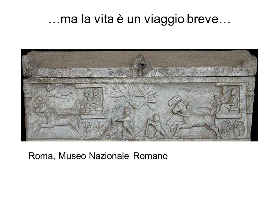 …ma la vita è un viaggio breve… Roma, Museo Nazionale Romano