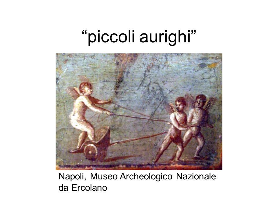 """""""piccoli aurighi"""" Napoli, Museo Archeologico Nazionale da Ercolano"""