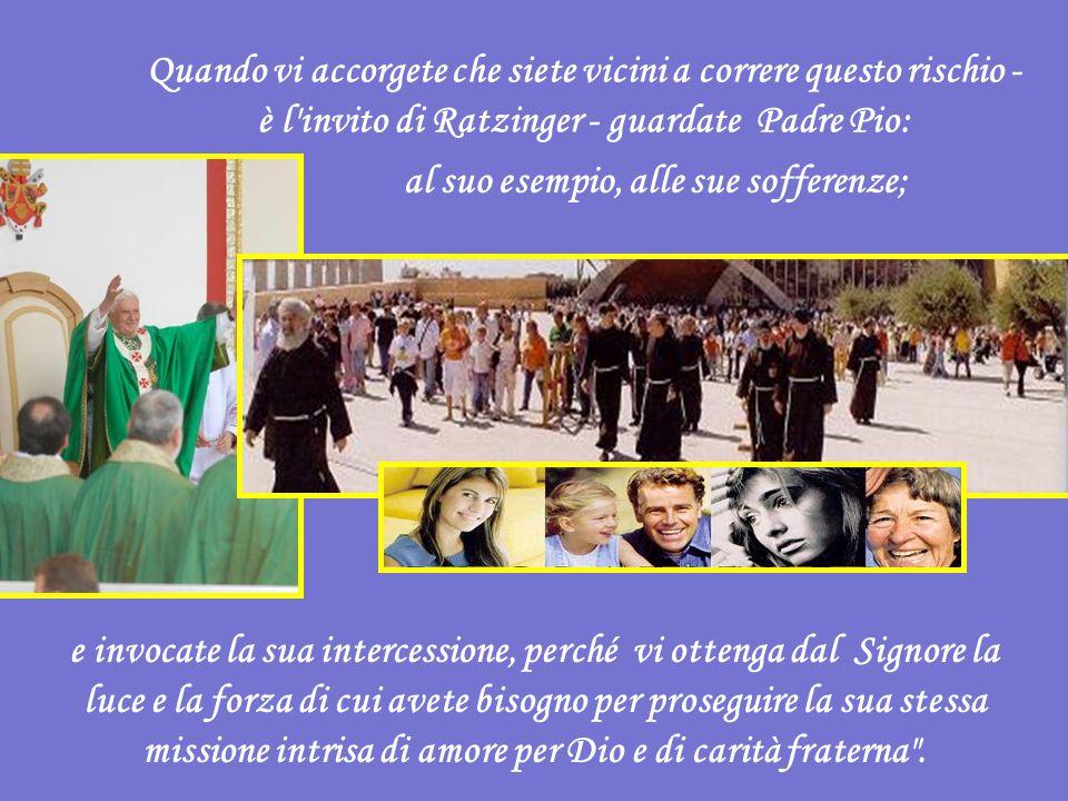 La mia visita - rimarca il Papa agli oltre 50.000 presenti durante l'omelia - ha anche lo scopo di confermarvi nella fedeltà alla missione ereditata dal vostro amatissimo Padre.