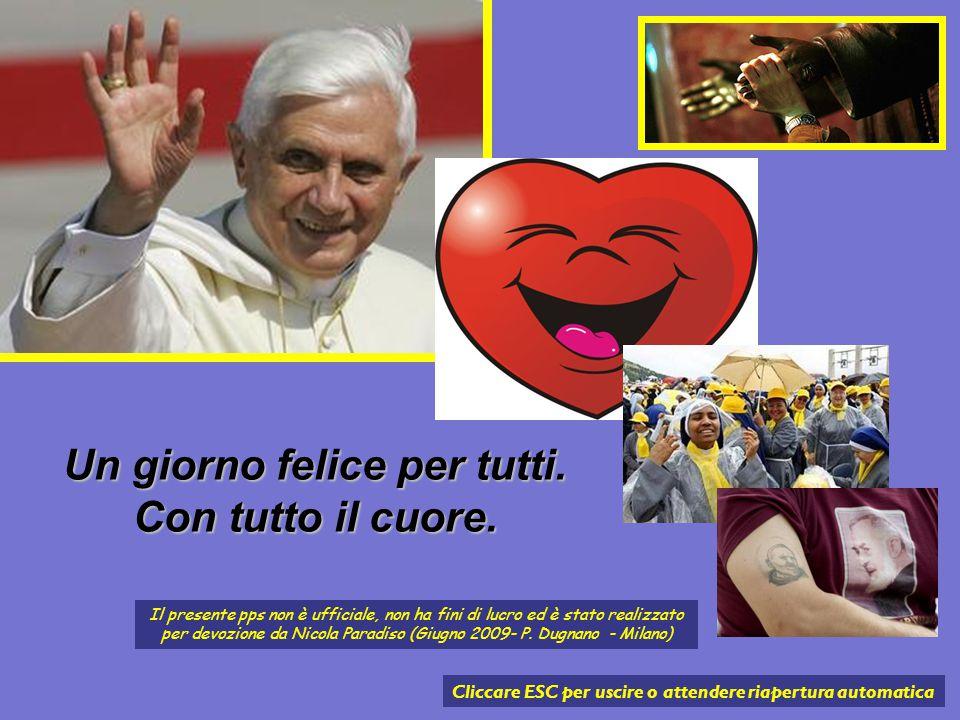 Nel pomeriggio il Papa ha visitato i malati dell'ospedale Casa Sollievo della Sofferenza e ha incontrato sacerdoti, prelati, frati e volontari nella n