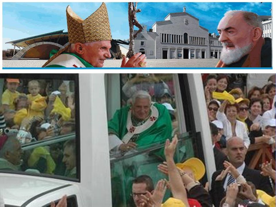 """avanzamento automatico Venerdi 19 Giugno 2009, papa Benedetto XVII ha celebrato la sua prima S. Messa e il suo primo Angelus dell'appena annunciato """"A"""
