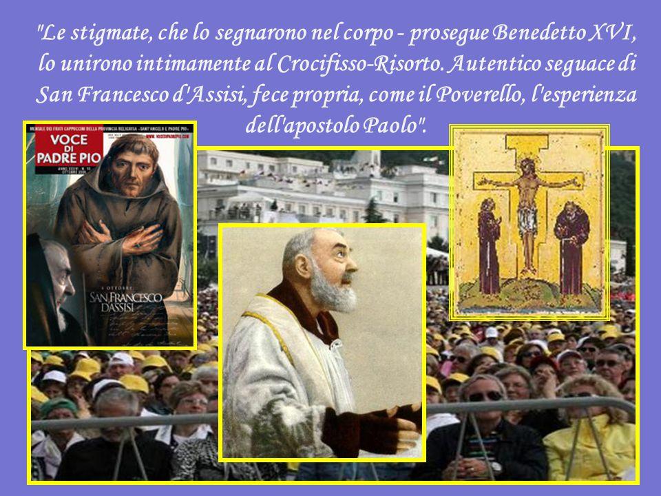 Un esempio di santità, che intreccia preghiera e carità e deve essere seguito da tutti.
