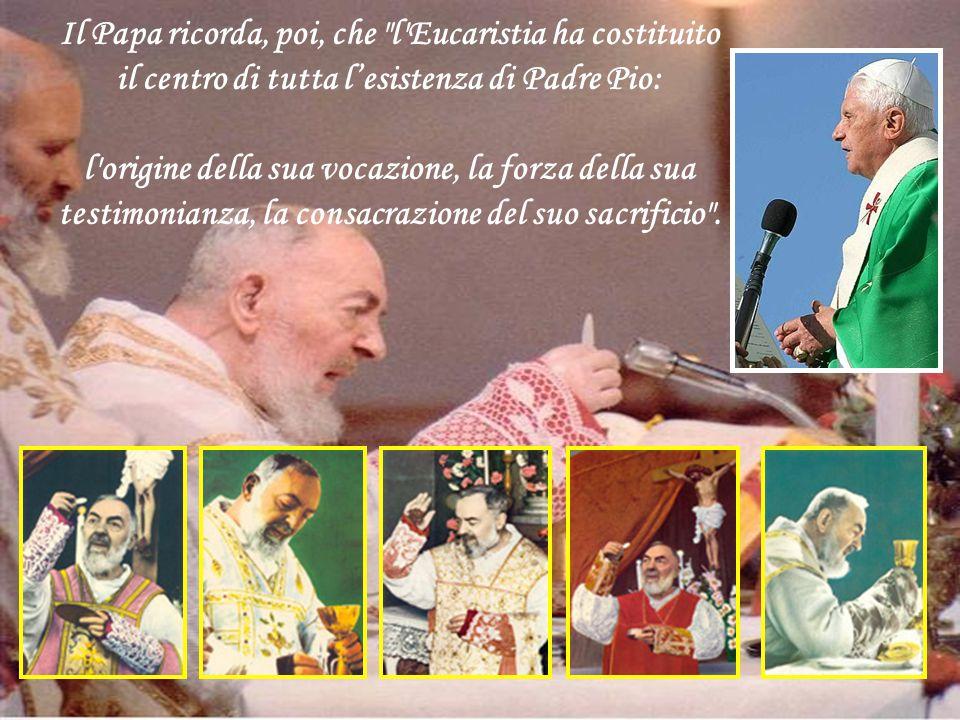 ... Il successore di Pietro pellegrino sul Gargano invita dunque i frati minori cappuccini, i membri dei Gruppi di preghiera e tutti i fedeli di San G