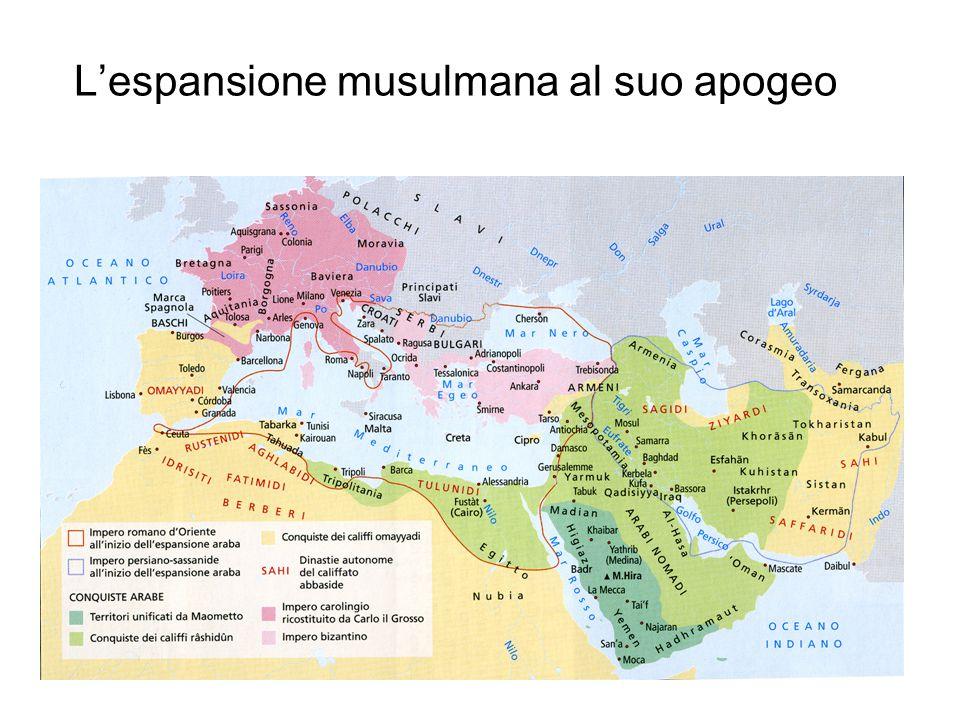 Le conquiste islamiche 622-750 (epoca di Muhammad, Califfi benguidati, Omayyadi )