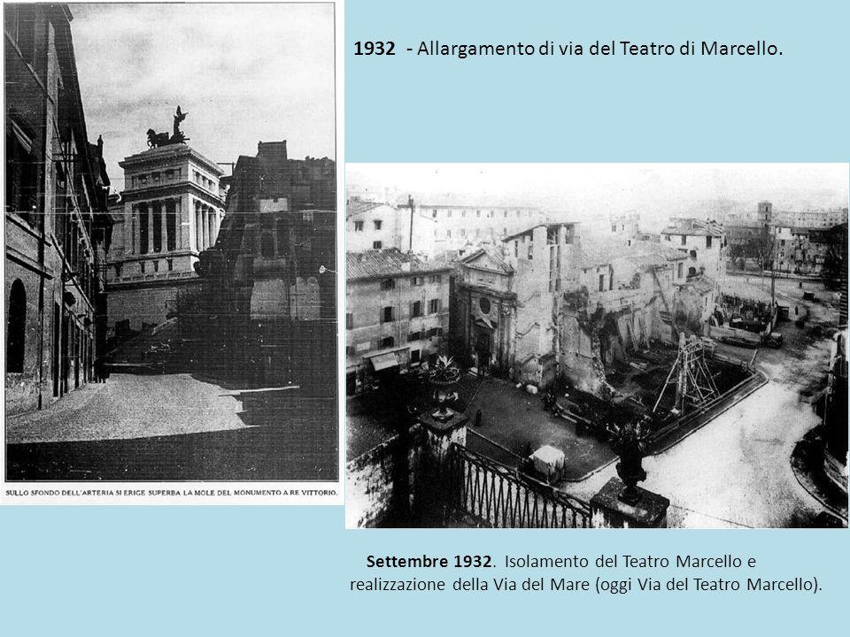 Gli sfrattati degli sventramenti edili operati da Mussolini al centro di Roma, in particolare delle zone intorno al Campidoglio, via del Teatro di Marcello, Fori Imperiali, San Giovanni, Porta Metronia e di viale Castrense furono trasferiti nelle borgate .