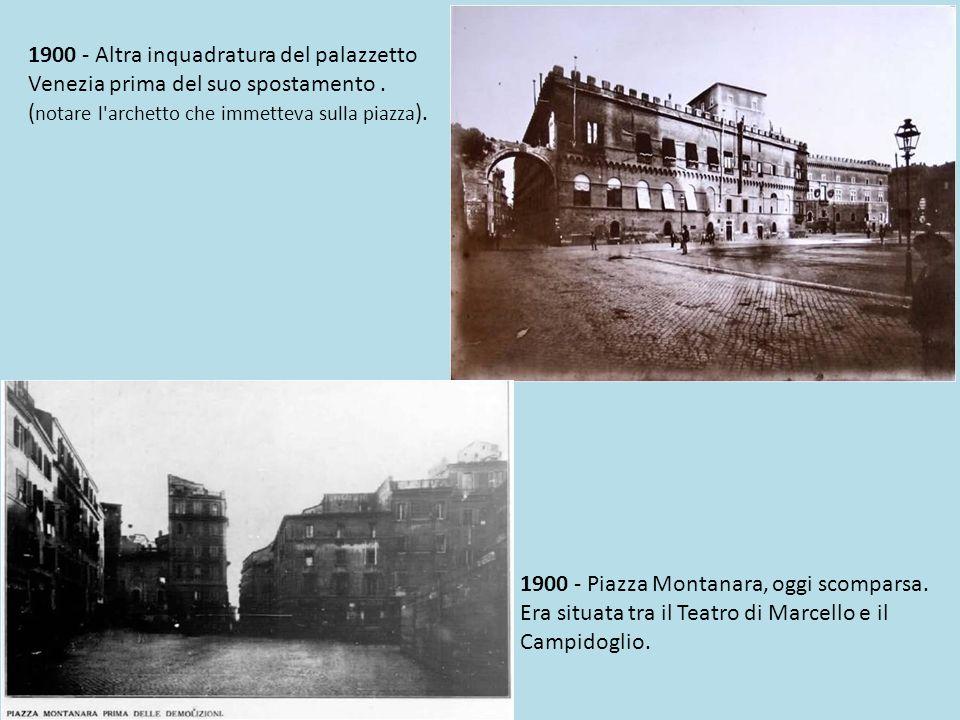 1860 - l antica piazza Venezia vista dalla torre di Paolo III.
