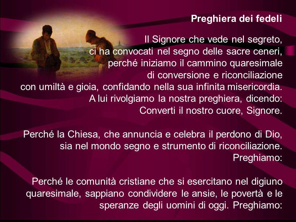 Quando pregate, non siate simili agli ipocriti che amano pregare stando ritti nelle sinagoghe e negli angoli delle piazze, per essere visti dagli uomi