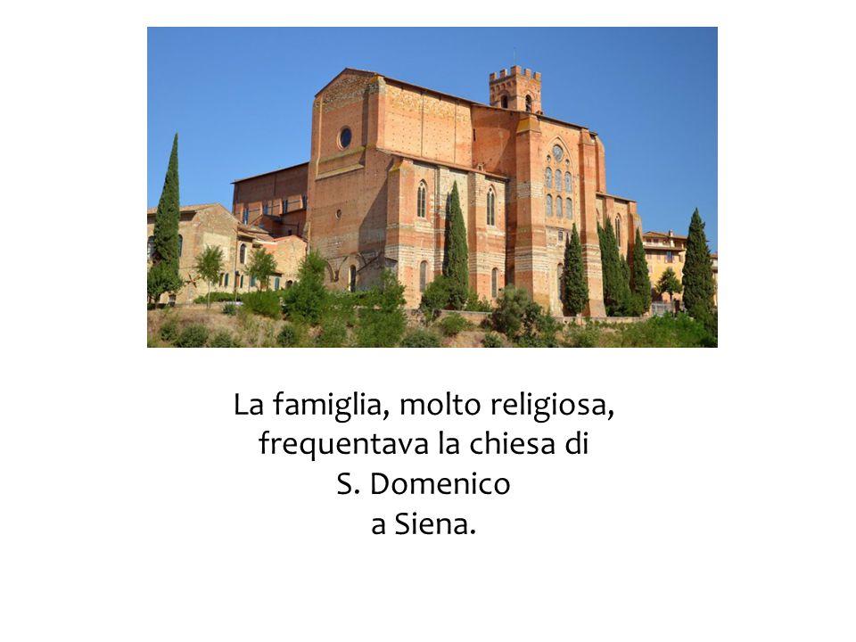 A circa 16 anni, nel 1363, desiderando essere religiosa, ma forse non disponendo di una dote sufficiente per i monasteri del tempo, chiese di entrare tra le Mantellate di S.