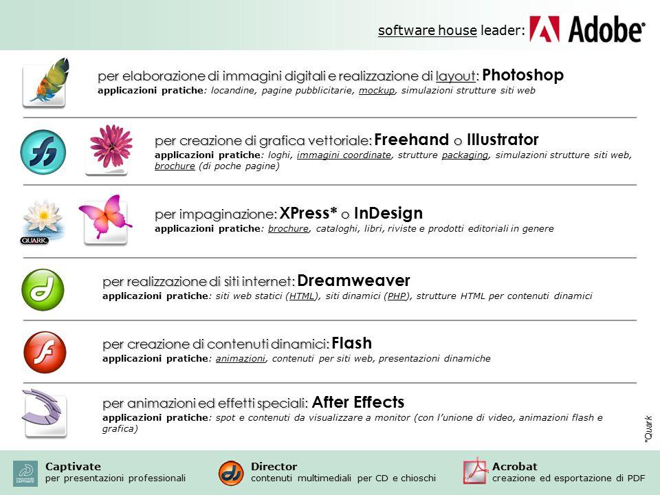 software house leader: per elaborazione di immagini digitali e realizzazione di layout: per elaborazione di immagini digitali e realizzazione di layou