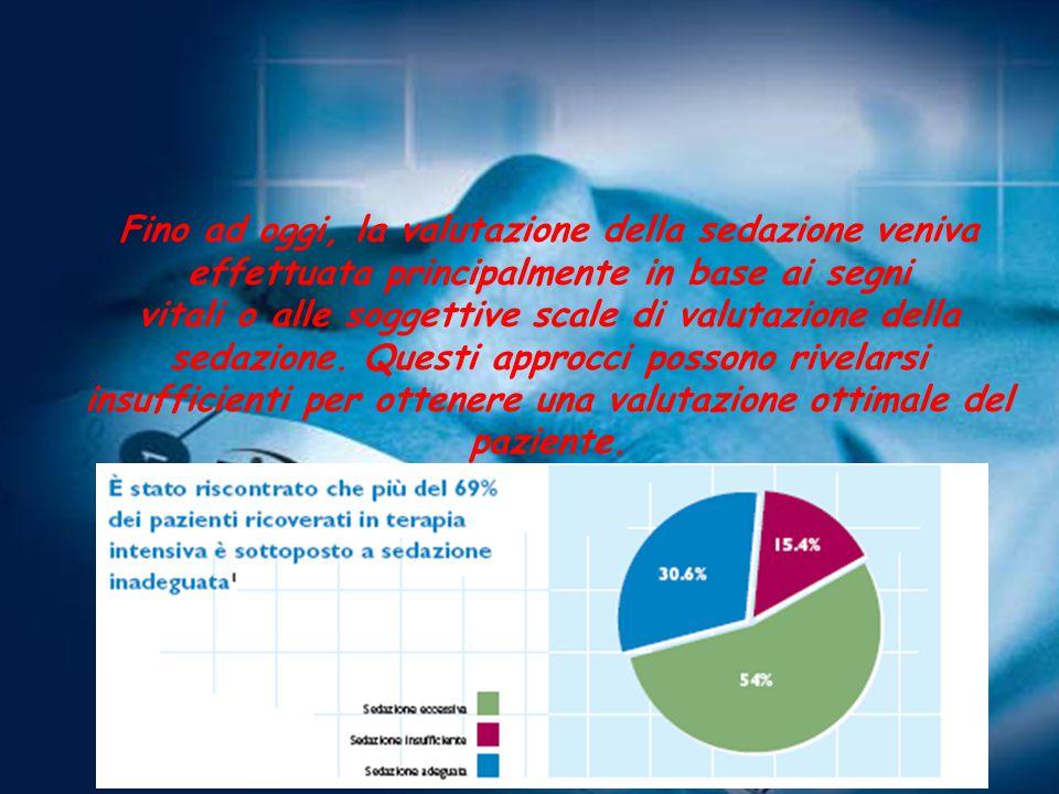 Fino ad oggi, la valutazione della sedazione veniva effettuata principalmente in base ai segni vitali o alle soggettive scale di valutazione della sedazione.