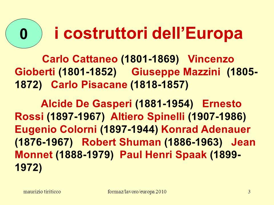 maurizio tiriticcoformaz/lavoro/europa 201054 la legge 30/03 legge Biagi e il dlgs applicativo 276/03 !?.