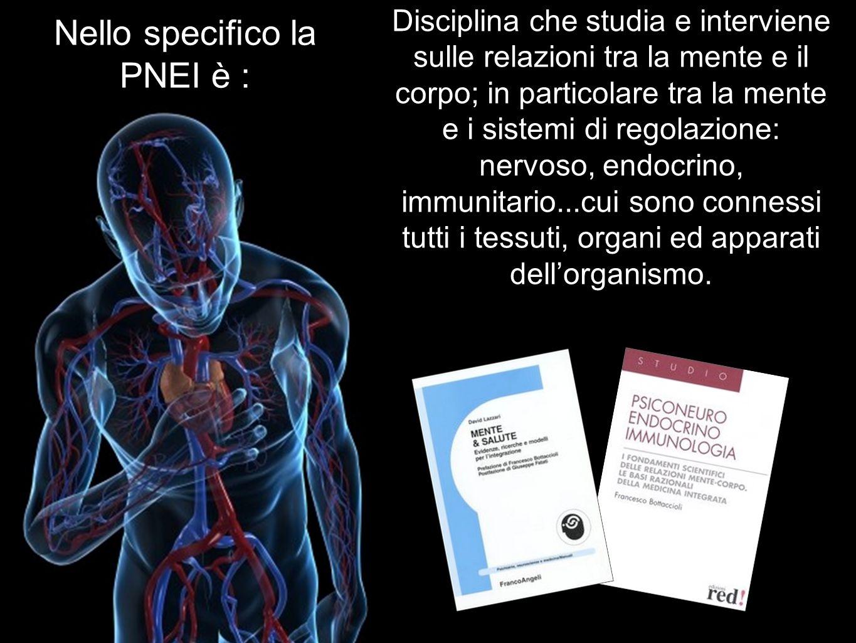 Disciplina che studia e interviene sulle relazioni tra la mente e il corpo; in particolare tra la mente e i sistemi di regolazione: nervoso, endocrino