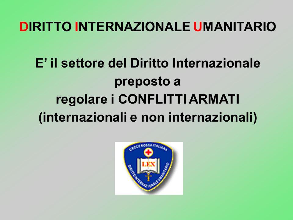 Croce Rossa Italiana Comitato Regionale Friuli V.G. NOZIONI DI DIRITTO INTERNAZIONALE UMANITARIO Istruttore D.I.U./Consigliere Qualificato FF.AA. Dott