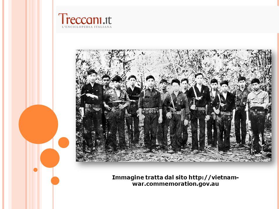 Immagine tratta dal sito http://vietnam- war.commemoration.gov.au