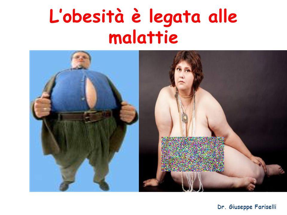 L'obesità è legata alle malattie Dr. Giuseppe Fariselli