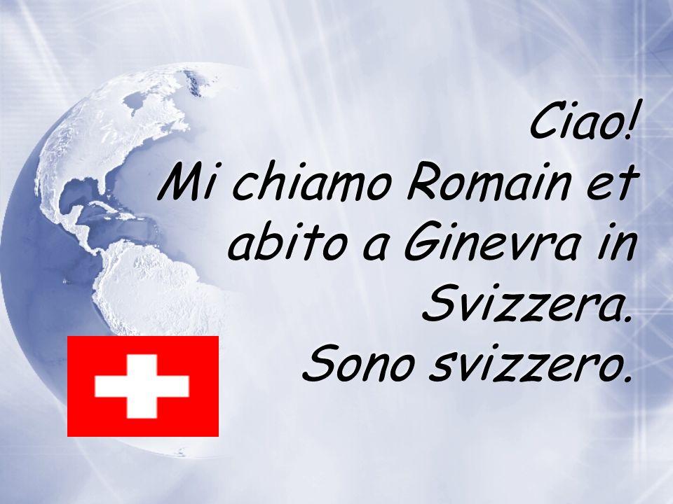 Abito in Italia. Sono italiano. Sono italiana.
