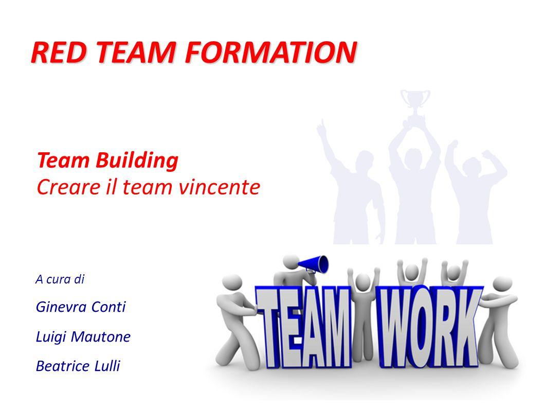 Obiettivi (1/3)  Creare un gruppo di lavoro trasformare sconosciuti in un team affiatato  Uno per tutti, tutti per uno sviluppare lo spirito di collaborazione all'interno del team