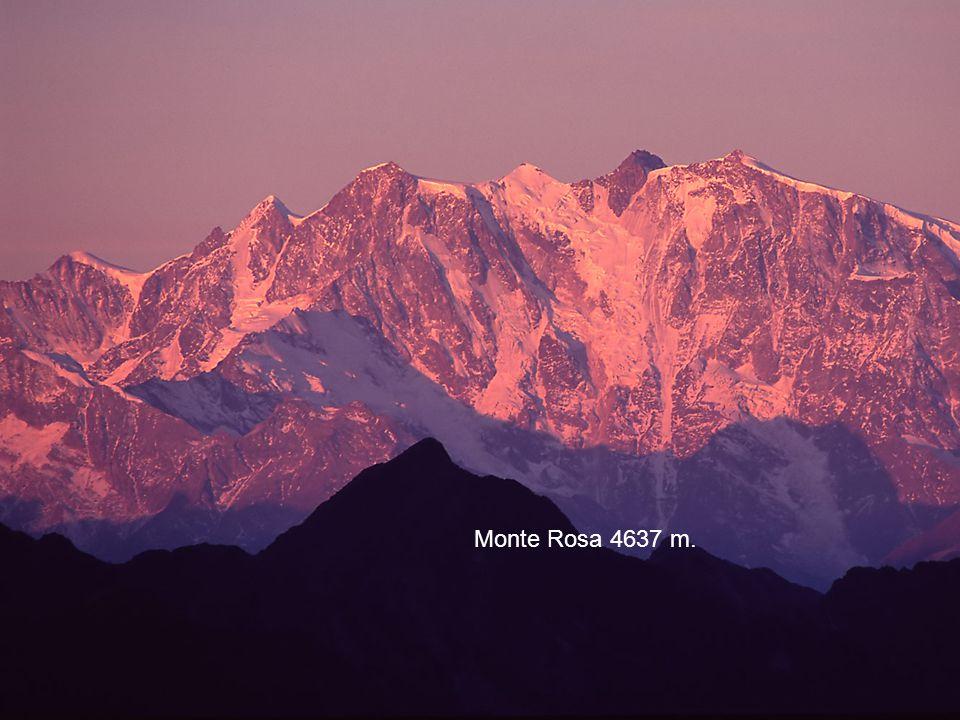 Monte Rosa 4637 m.