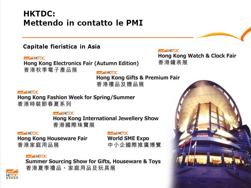 Capitale fieristica in Asia HKTDC: Mettendo in contatto le PMI