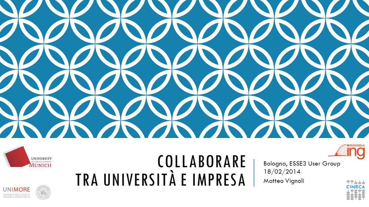 I BISOGNI (EX-STUDENTI) Trovare il giusto network Dare le informazioni e il supporto adeguato alla ricerca del lavoro post-laurea Rimanere connessi con l'Università