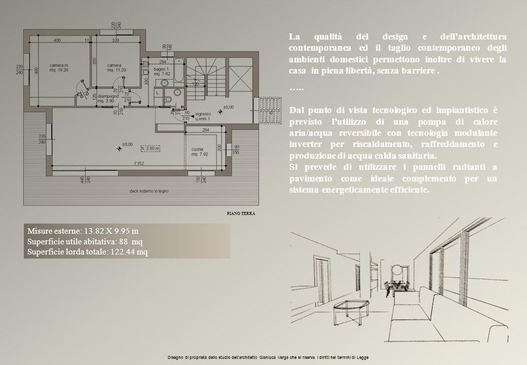 La qualità del design e dell'architettura contemporanea ed il taglio contemporaneo degli ambienti domestici permettono inoltre di vivere la casa in pi