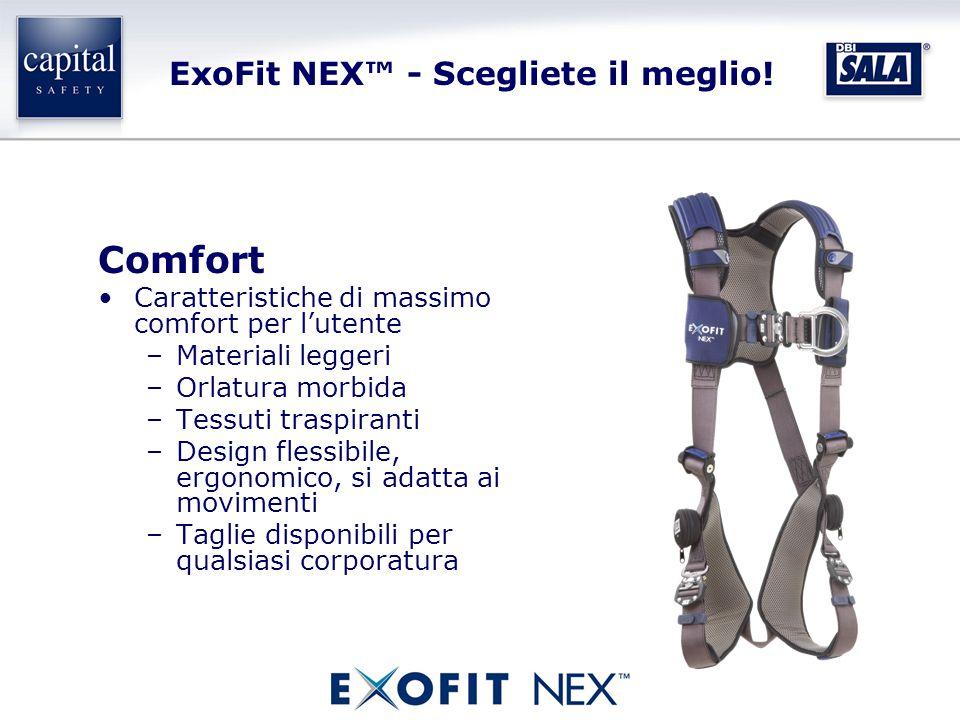 ExoFit NEX™ - Scegliete il meglio.