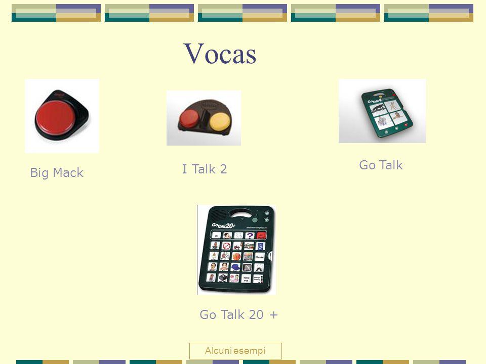 Vocas Big Mack I Talk 2 Go Talk Go Talk 20 + Alcuni esempi