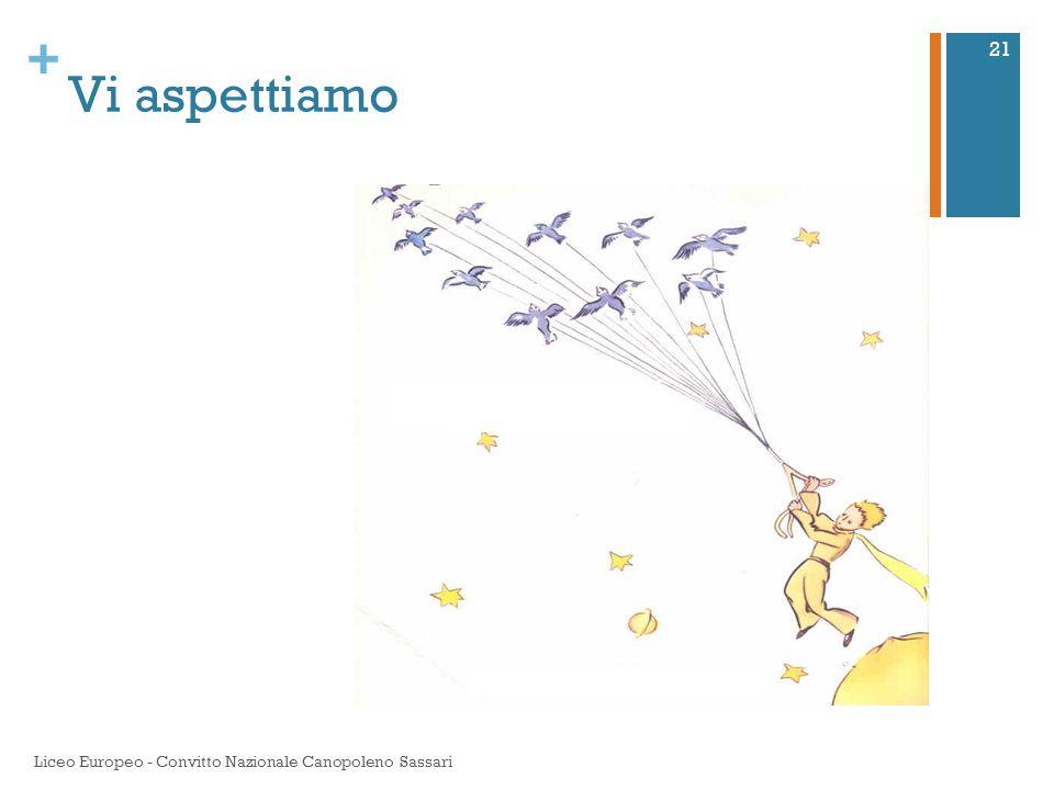+ Vi aspettiamo Liceo Europeo - Convitto Nazionale Canopoleno Sassari 21