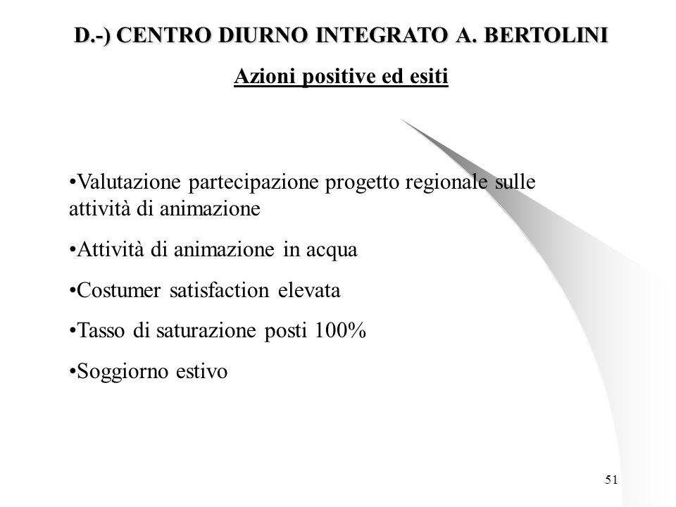 51 D.-) CENTRO DIURNO INTEGRATO A.