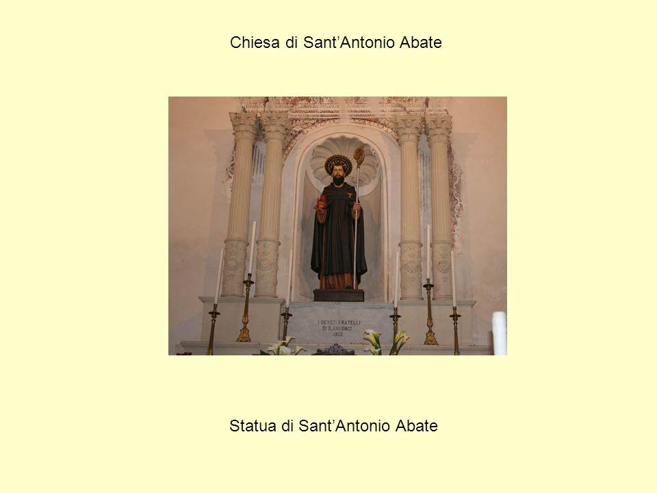 Chiesa di Sant'Antonio Abate Statua di Sant'Antonio Abate