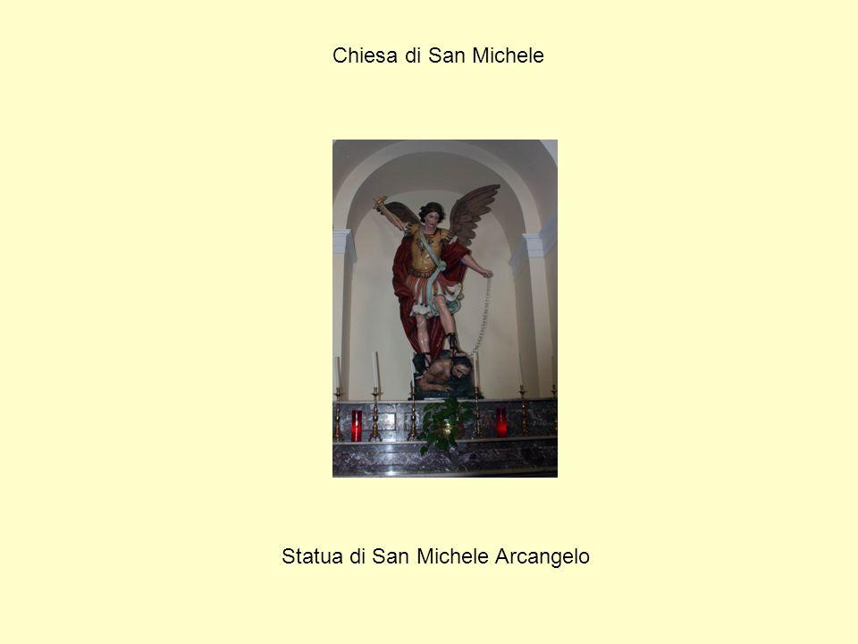 Chiesa di San Michele Statua di San Michele Arcangelo