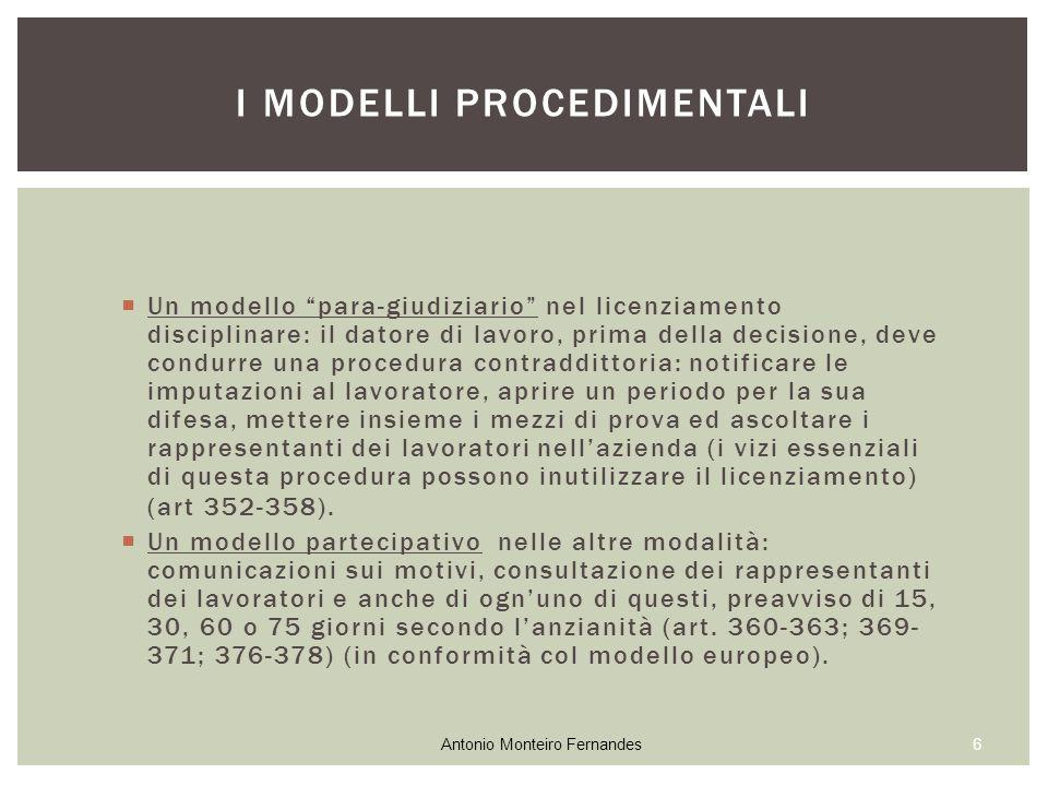 """ Un modello """"para-giudiziario"""" nel licenziamento disciplinare: il datore di lavoro, prima della decisione, deve condurre una procedura contraddittori"""