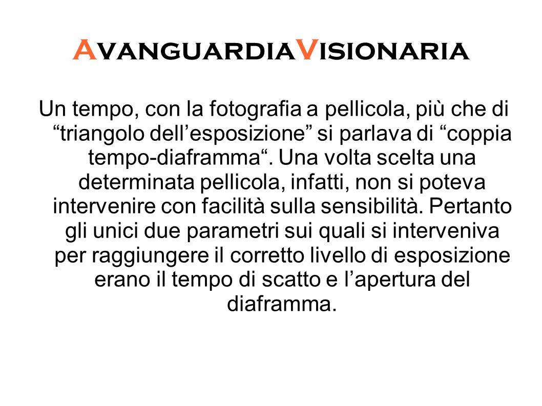 """AvanguardiaVisionaria Un tempo, con la fotografia a pellicola, più che di """"triangolo dell'esposizione"""" si parlava di """"coppia tempo-diaframma"""". Una vol"""