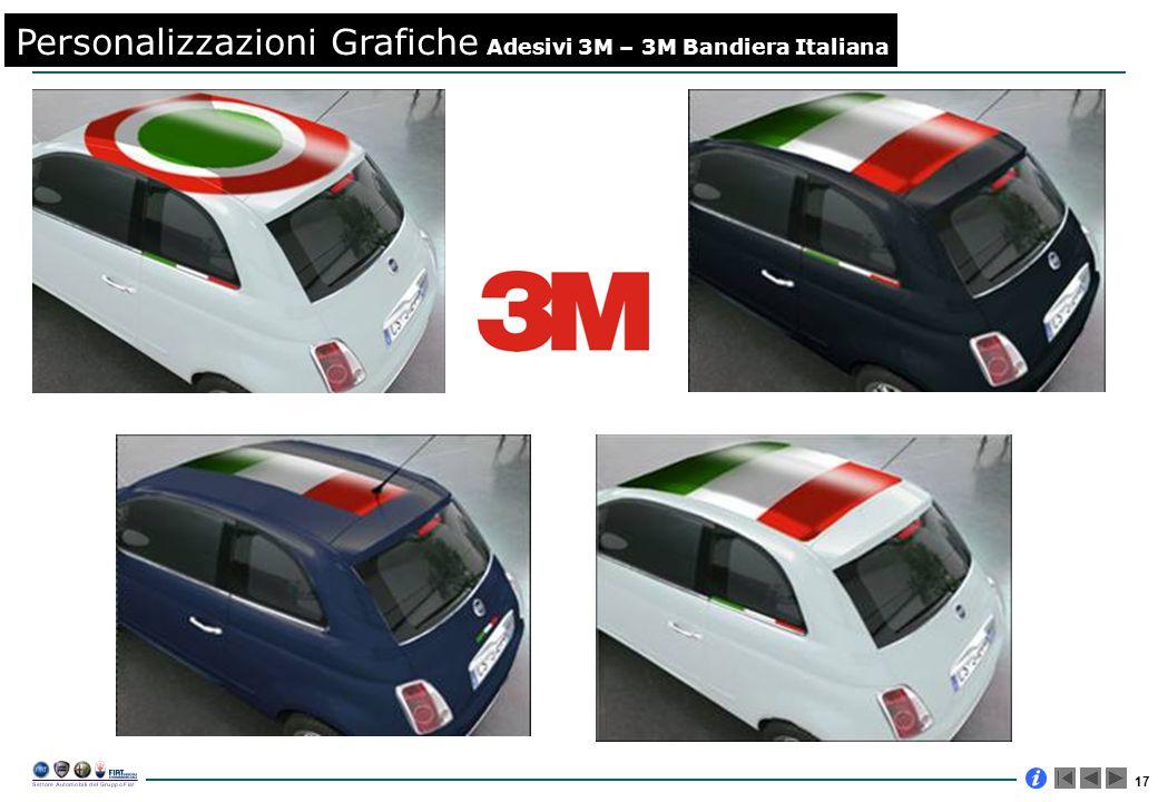 17 Personalizzazioni Grafiche Adesivi 3M – 3M Bandiera Italiana