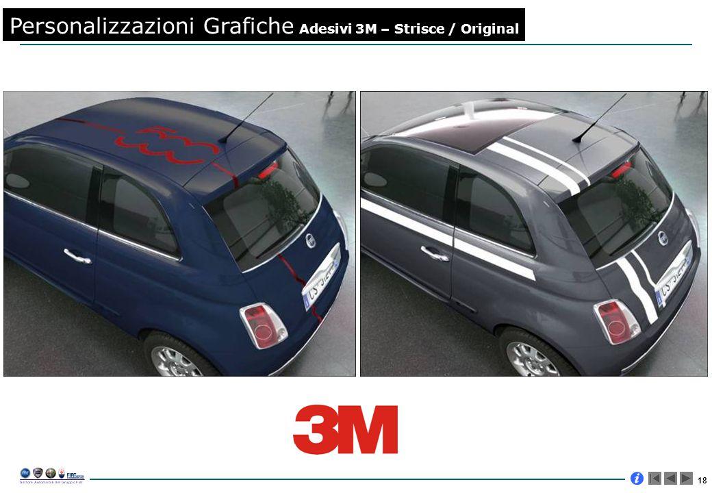 18 Personalizzazioni Grafiche Adesivi 3M – Strisce / Original