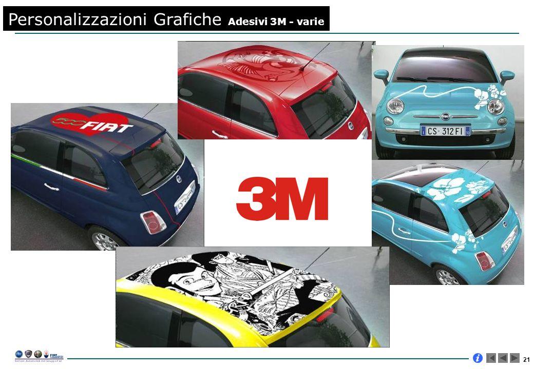 21 Personalizzazioni Grafiche Adesivi 3M - varie